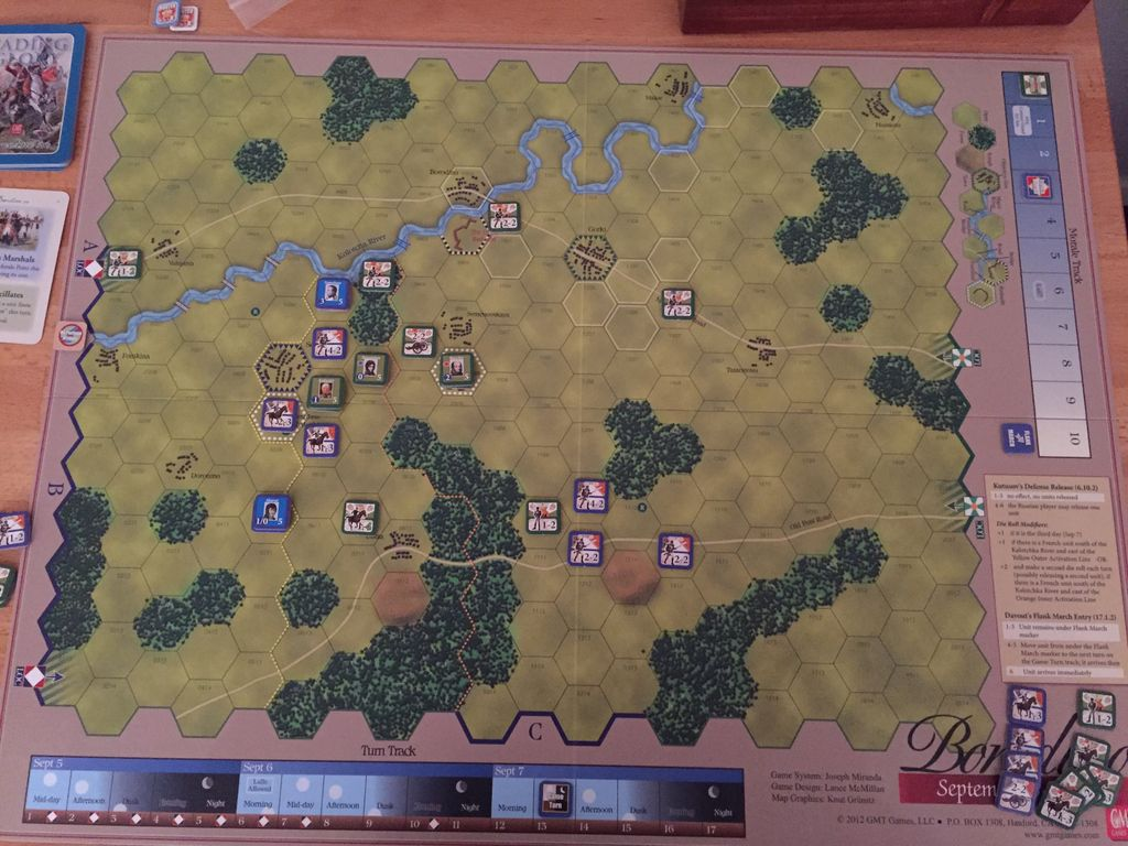 May gaming advance after combat boardgamegeek borodino wrapped up last night with a decisive french victory after the french broke enough units to drop the russians to zero morale gumiabroncs Gallery