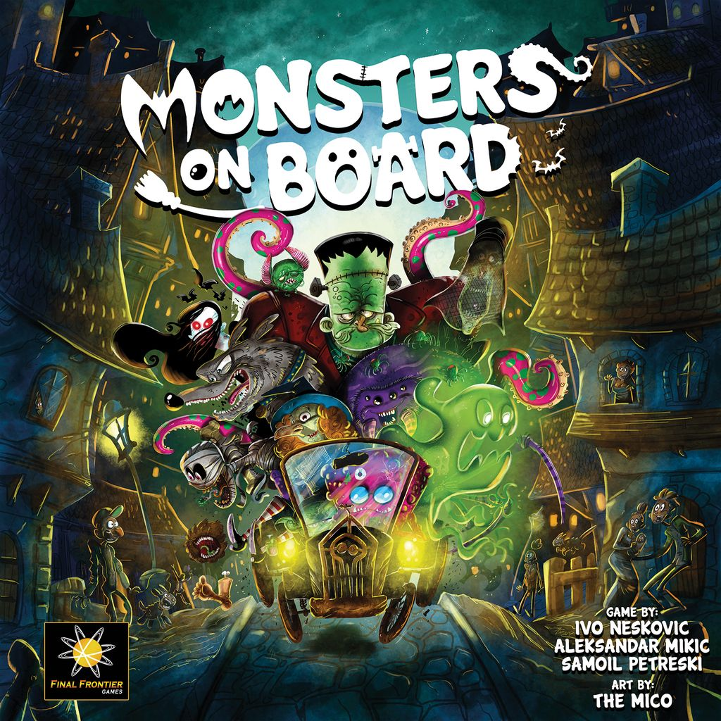 Board Game: Monsters on Board