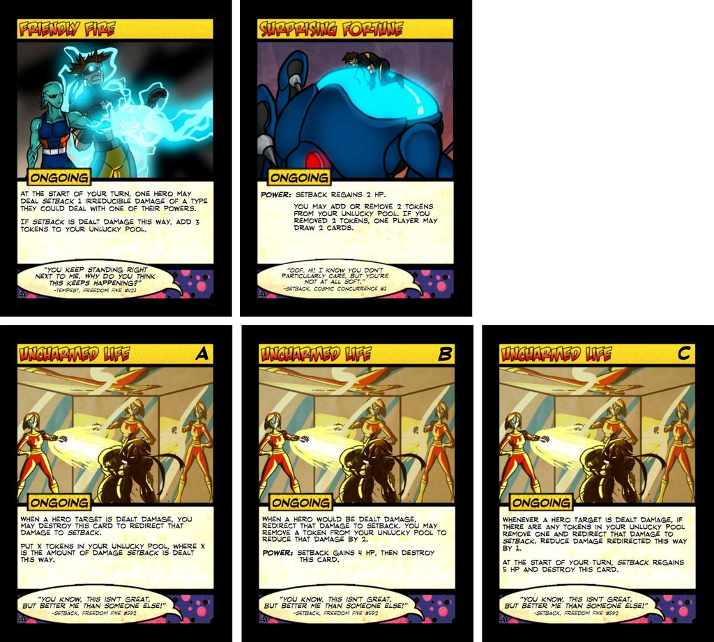 Adelphophages card inserts | Sentinels of the Multiverse
