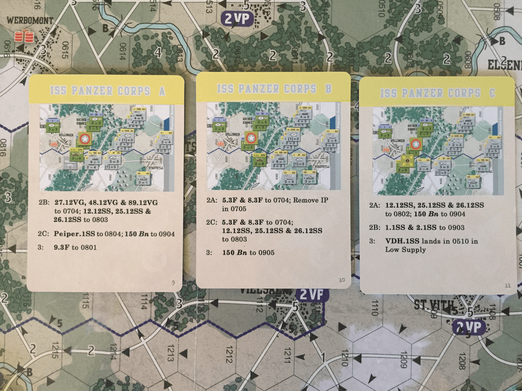 As Scenario 182 The Allied Suprised Dec16 18 Play Report 10 Digit 0816 Advantage Not Sure I Did Study All Card Order Variations German Advantages Include Ip Removal 14cavxviii Elimination And Peiper1ss