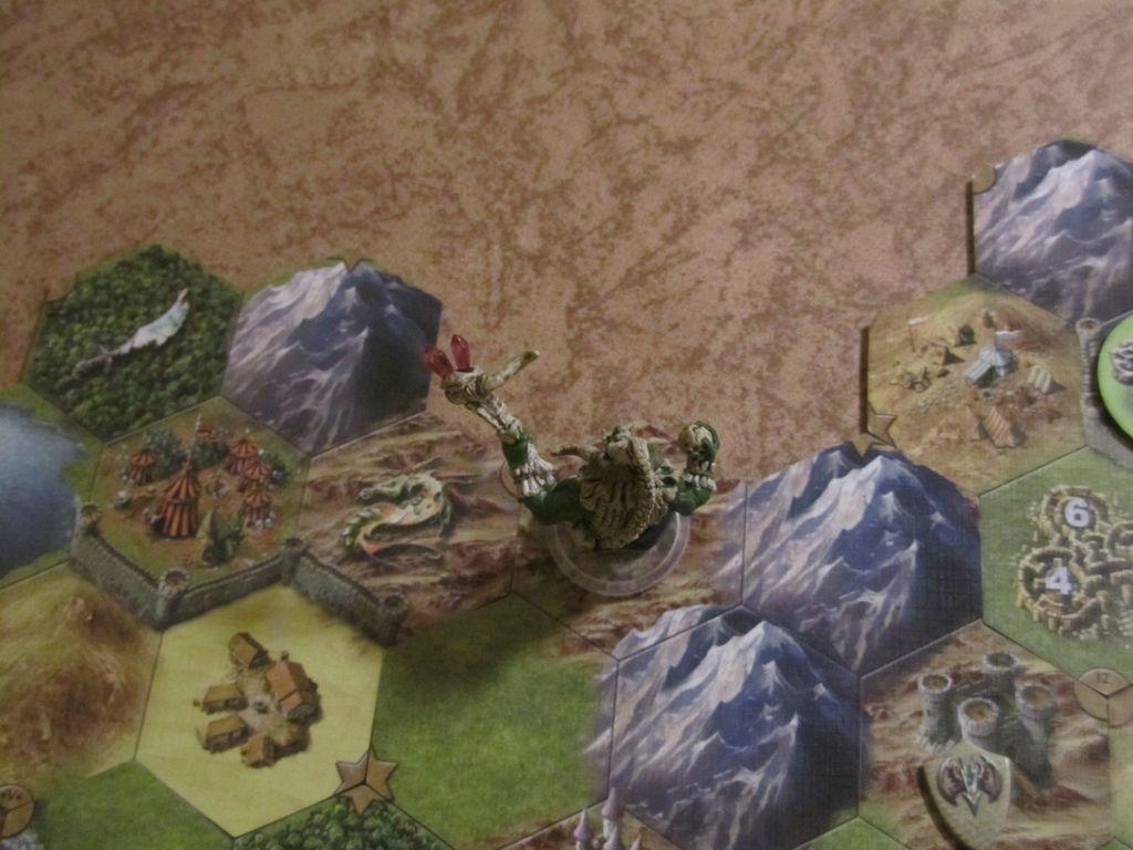 rampaging dragon