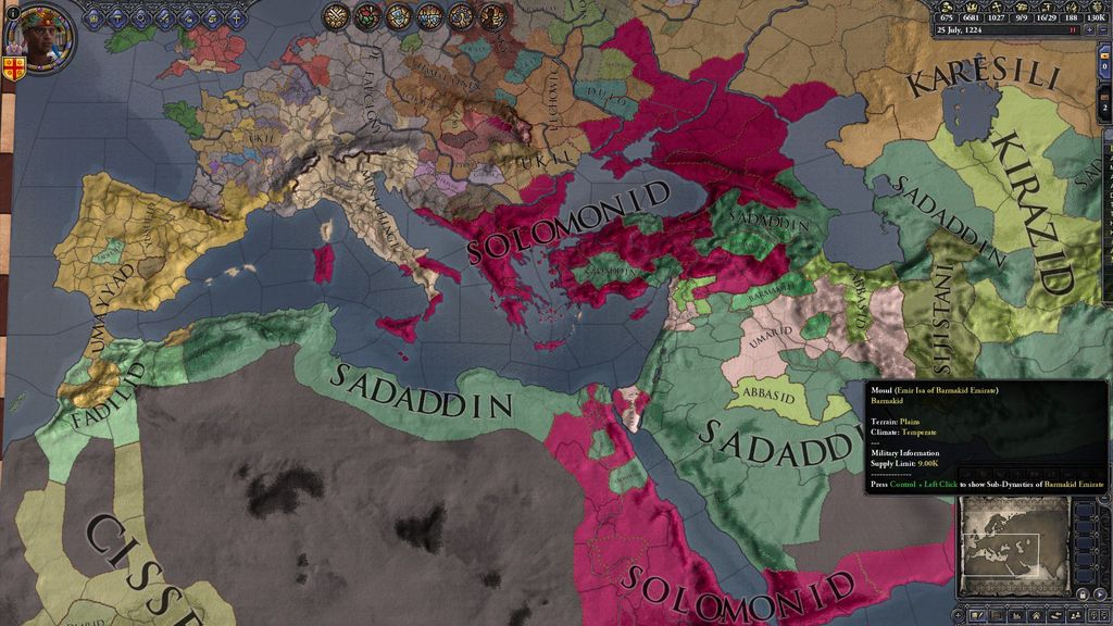 CKII Ironman Play for 2016 VGG Challenge - Abyssinia | Crusader
