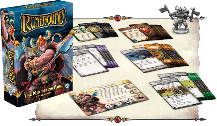 Mil05006 Reviews: The Mountains Rise Adventure Pack! | Runebound
