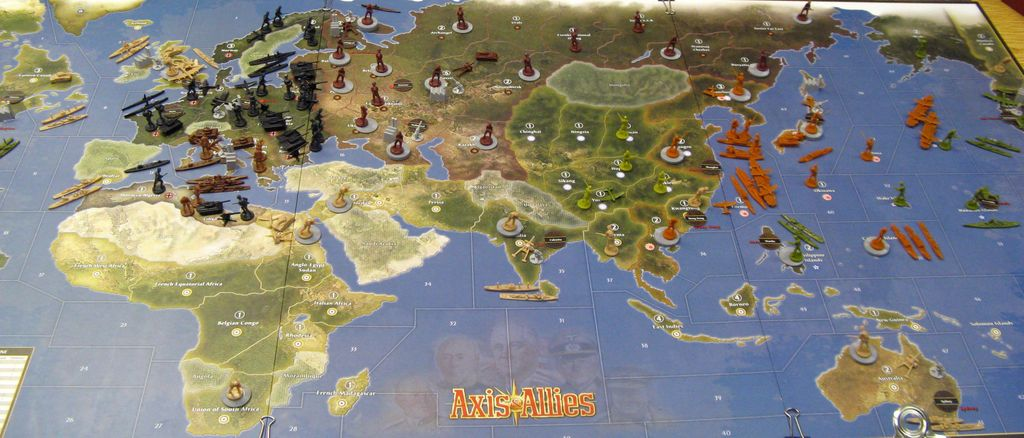 Axis & Allies 50th - First Two 1941 Sessions - Report and