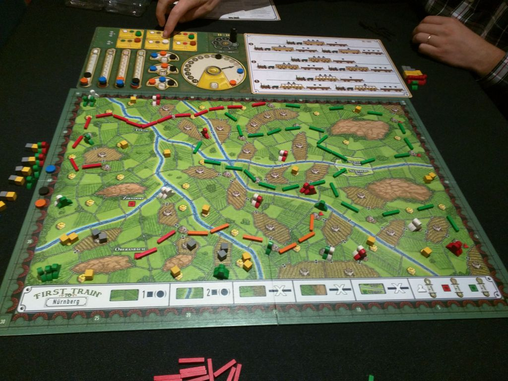 Board Game: First Train to Nuremberg