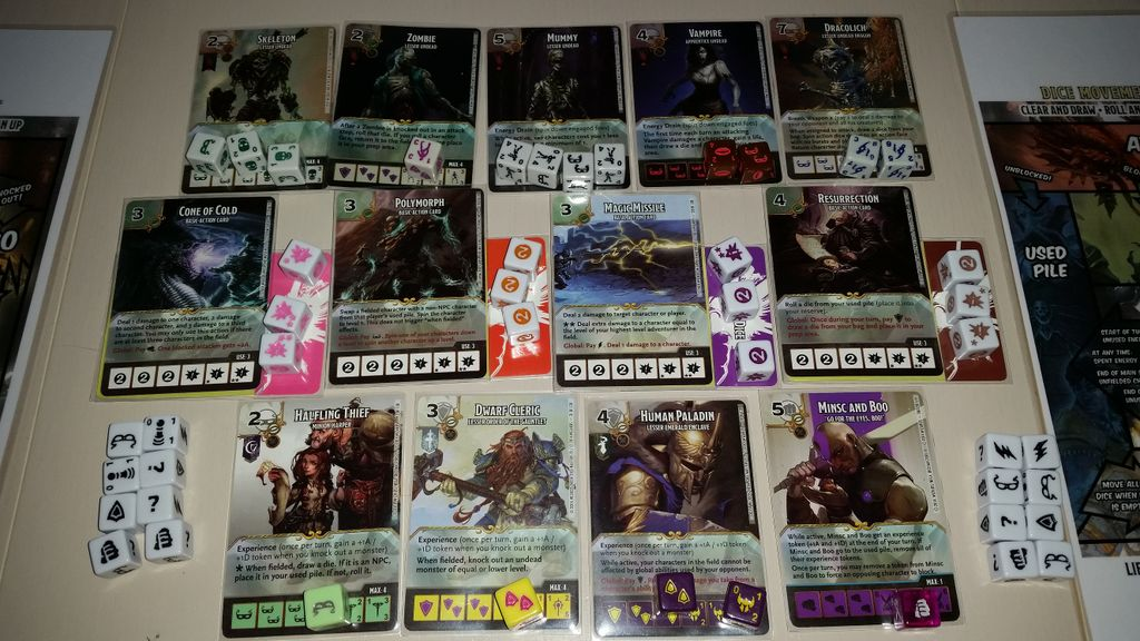 Geeklists for Dungeons & Dragons Dice Masters: Battle for