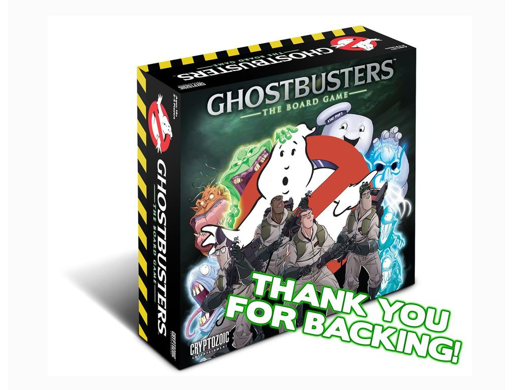 Ghost Busted The Games Hunter Boardgamegeek
