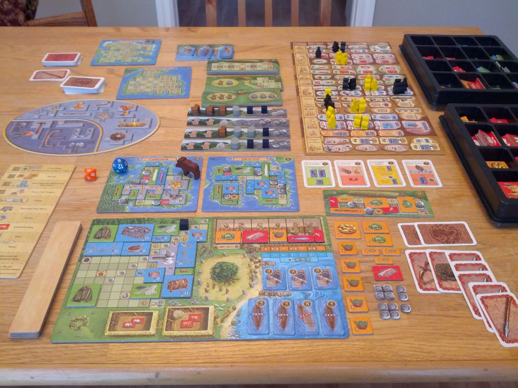 Odin MASSIVE: A MASSIVE review of A Feast for Odin, as befits such a