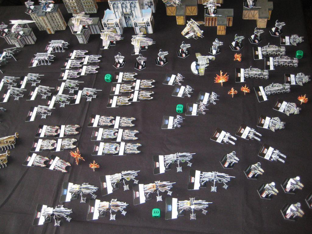 Epic Star Wars Battlegrounds | Miniature Games Construction Yard