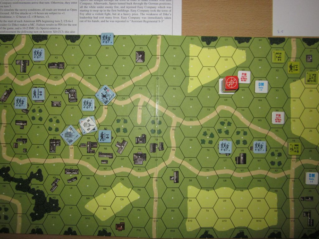 LAM 5 (Band of Brothers \'The Breaking Point\'), solo play ...