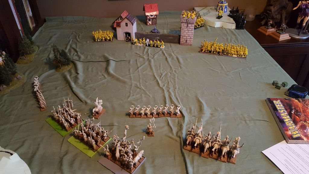 Warmaster 28mm: Empire versus High Elves ( REVENGE ) | Miniature