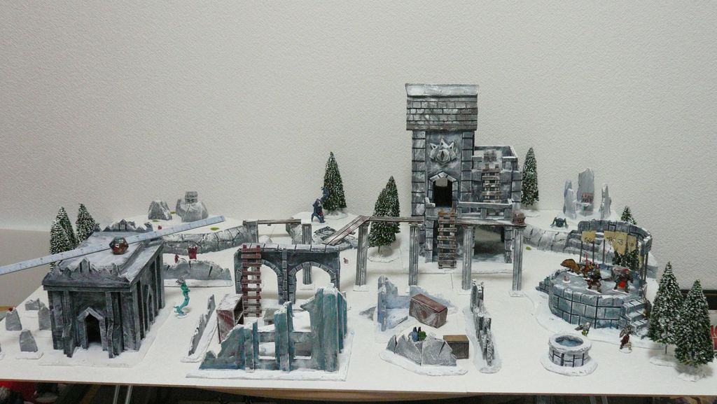 Frostgrave terrain | Frostgrave | BoardGameGeek