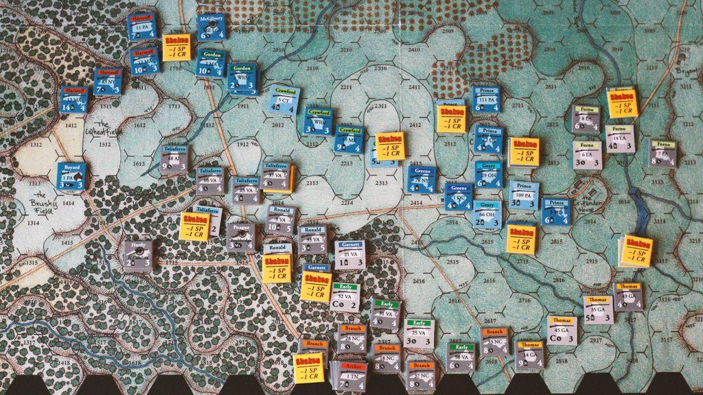 Board Game: Stonewall's Sword: The Battle of Cedar Mountain