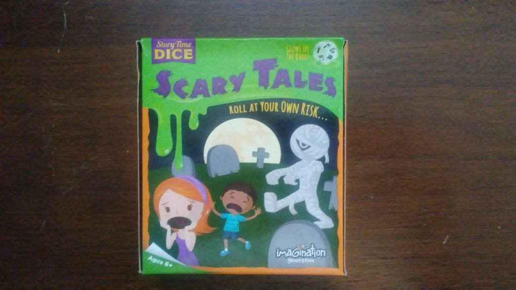 Gaming Bits: Story Time Dice: Scary Tales Review | Gaming
