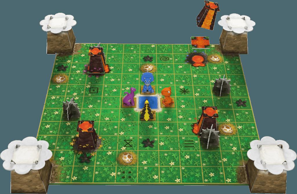 SOSダイナソー:ゲームの準備