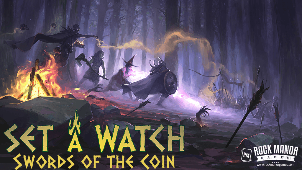 Board Game: Set a Watch: Swords of the Coin