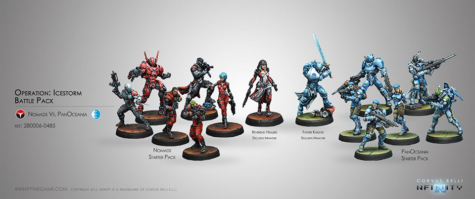 Miniatures: Playing without painting ? How many people on