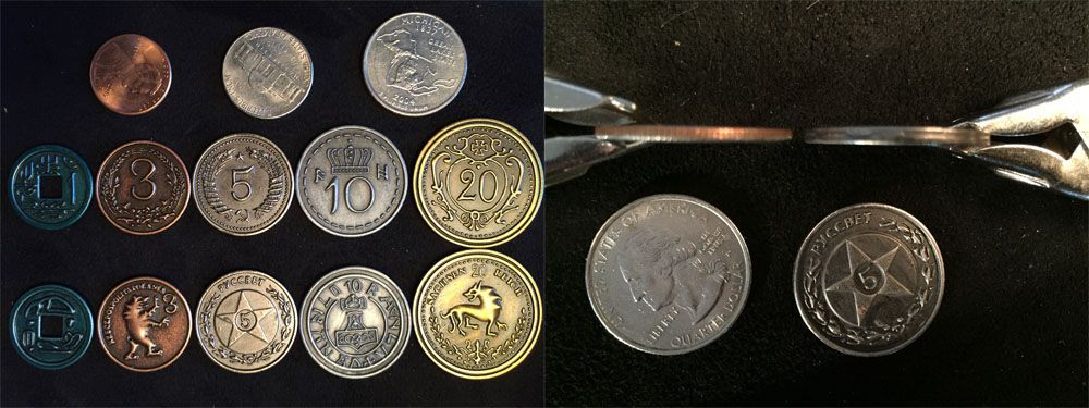 Metal coins for gaming: Some options, facts and comparison