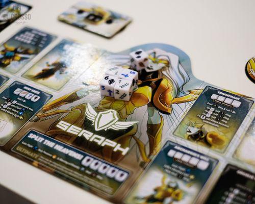 Board Game: Dice Throne: Season Two – Seraph v. Vampire Lord