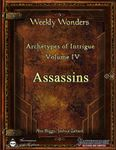 RPG Item: Archetypes of Intrigue Volume IV: Assassins