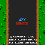 Video Game: Spy Hunter (1983)
