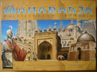 Board Game: Maharaja: The Game of Palace Building in India