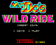 Video Game: Mr. Do!'s Wild Ride