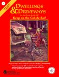 RPG Item: Dwellings & Driveways: Keep on the Cul-de-Sac!
