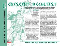 RPG Item: Crescent Occultist