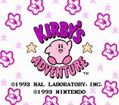 Video Game: Kirby's Adventure