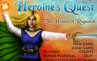 Video Game: Heroine's Quest: The Herald of Ragnarok