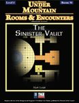 RPG Item: Rooms & Encounters: The Sinister Vault
