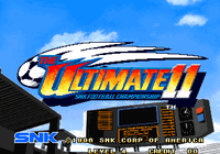 Video Game: The Ultimate 11: SNK Football Championship