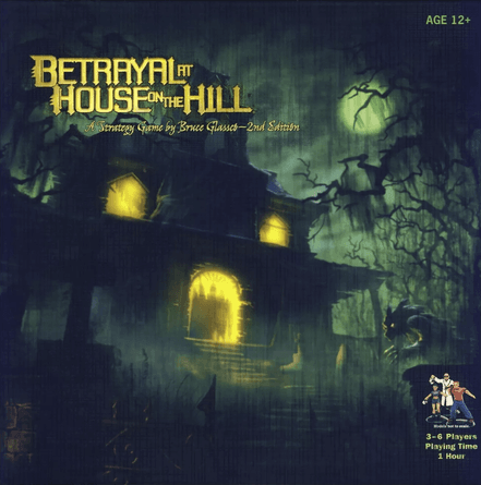 Betrayal At House On The Hill Board Game Boardgamegeek