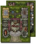 RPG Item: GameMastery Flip-Mat: Pathfinder Lodge