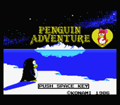 Video Game: Penguin Adventure