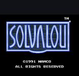 Video Game: Solvalou