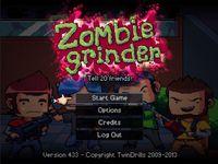 Video Game: Zombie Grinder