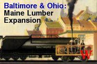 Board Game: Baltimore & Ohio: Maine Lumber Expansion