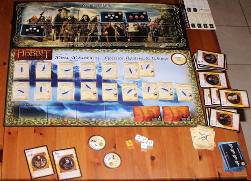 Board Game: The Hobbit: An Unexpected Journey