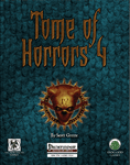 RPG Item: Tome of Horrors 4 (Pathfinder)