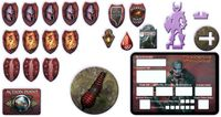RPG Item: Blackguard Token Set