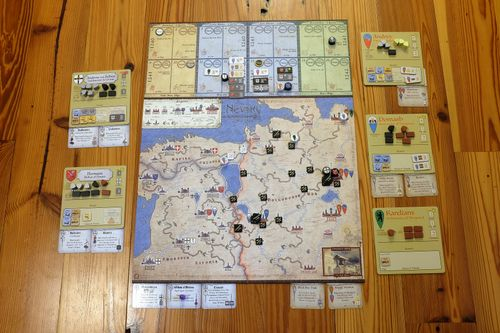 Board Game: Nevsky: Teutons and Rus in Collision 1240-1242