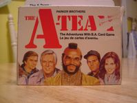 Board Game: The A-Team: The Adventures with B.A. Card Game