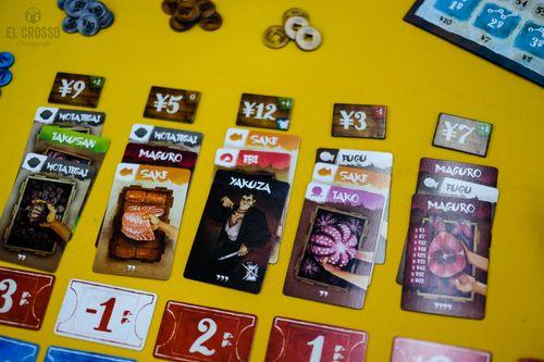 Board Game: Tsukiji