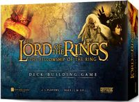 Board Game: The Lord of the Rings: The Fellowship of the Ring Deck-Building Game