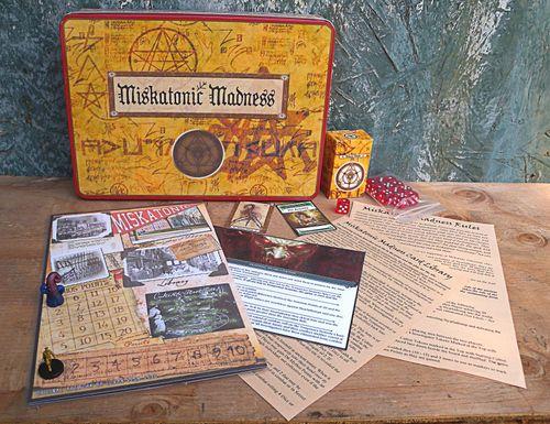 Board Game: Miskatonic Madness