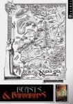 RPG Item: Beasts & Barbarians: Dread Sea Dominions Map