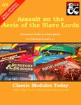 RPG Item: Classic Modules Today A3: Assault on the Aerie of the Slave Lords