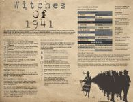 RPG Item: Witches of 1941